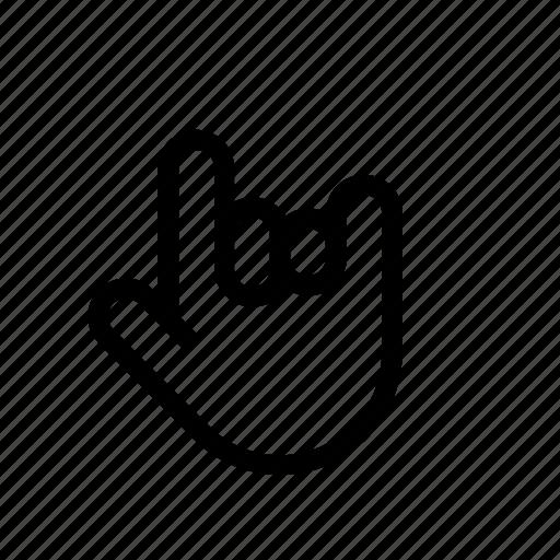 cursor, fingers, hand, hand-gesture icon