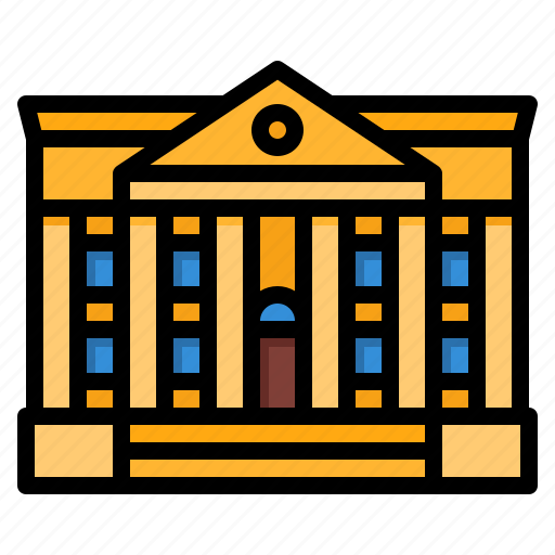 Bank, banking, building, finance icon - Download on Iconfinder