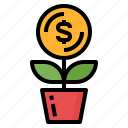 business, earn, investment, profit, strategy icon