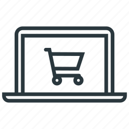 cart, notebook, online, shop icon