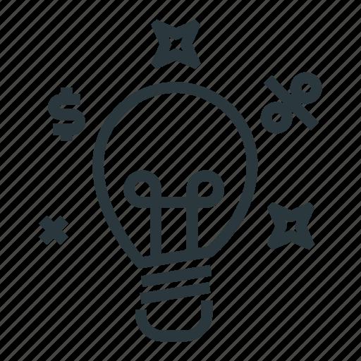 idea, invest, managment, smart icon