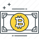 bitcoin, bitcoin cash, cryptocurrency icon