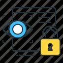 cyber, cyber identity, identity icon