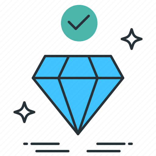 Diamond, premium, value icon - Download on Iconfinder