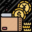 digital, wealth, money, wallet, currency
