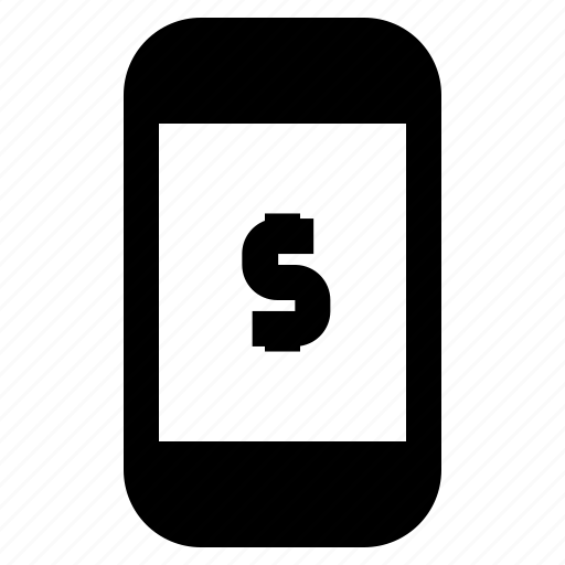 banking, business, fintech, mobile, phone icon