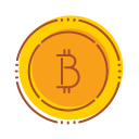 bank, bitcoin, financial, internet, money, technology icon