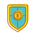 bank, financial, internet, security, technology icon