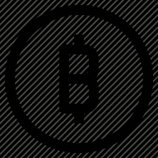 bitcoin, coin, cryptocurrency, fintech, money icon
