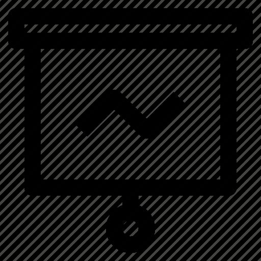 business, display, fintech, presentation icon