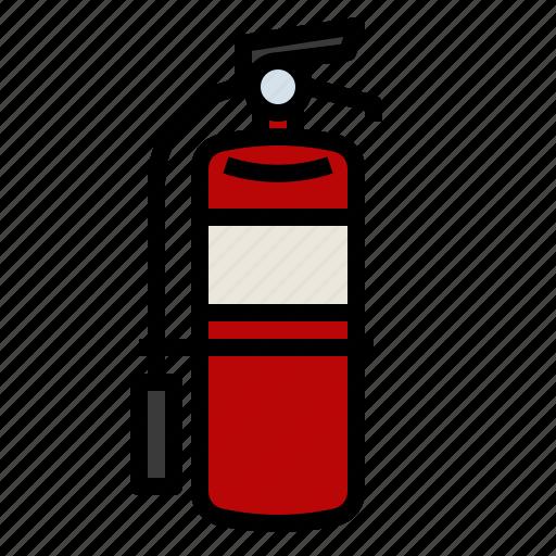 equipment, extinguisher, fire, firefighting, fireman icon