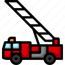 truck, emergency, fire, vehicle, transportation, red, engine