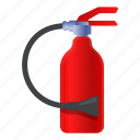danger, extinguisher, fire, flame, party, safety