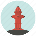 burn, fire, fire fighting, firefighter, flame, hydrant, water icon