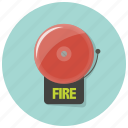 alarm, alert, bell, danger, fire, fire alarm, warning icon