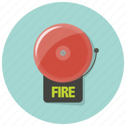 alarm, alert, bell, danger, fire, fire alarm, warning icon