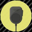 communication, device, police radio, radio, talkie, walkie, walkie talkie icon
