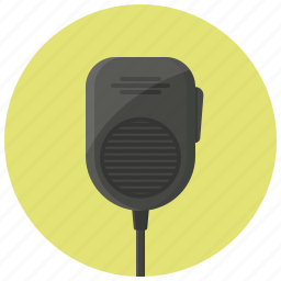 communication, device, police radio, radio, talkie, walkie, walkie talkie icon