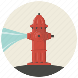 burn, fire, firefighter, flame, hydrant, water, water hydrant icon