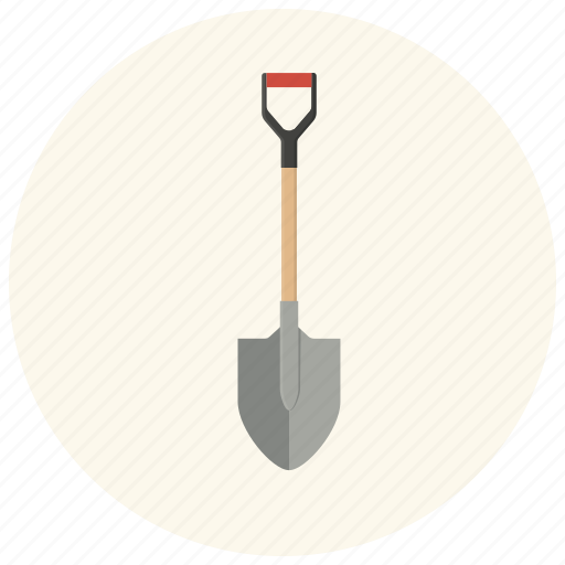 dig, equipment, gear, repair, shovel, tool, work icon