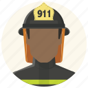 avatar, fire fighter, firefighter, fireman, man, smoke jumper, warden icon