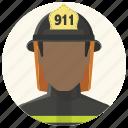 avatar, fire fighter, firefighter, fireman, man, smoke jumper, warden icon