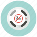 alarm, attention, detector, fire alarm, no smoking, smoke alarm, smoke detector icon
