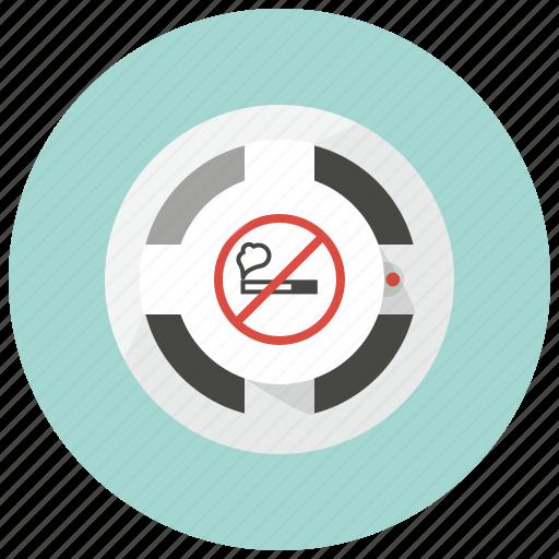 alarm, attention, detector, fire alarm, no smoking, smoke alarm, smoke detector icon