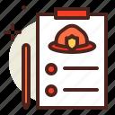 drill, fire, flames, hazard, smoke icon