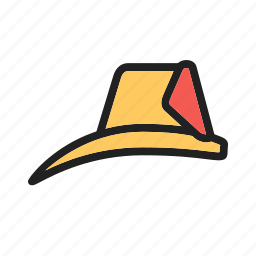 emergency, equipment, fire, fireman, hat, head, helmet icon
