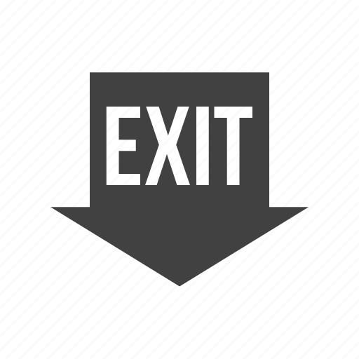 emergency, evacuation, exit, fire, outdoors, run, running icon