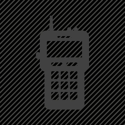 communication, firefighter, radio, talkie, talking, walkie, wireless icon