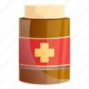 aid, face, jar, medical, shopping