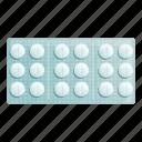 medical, pack, pills, round