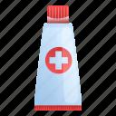 hand, medical, tube, aid