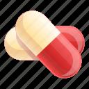 capsule, computer, medical, medicine, pills