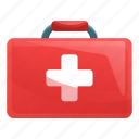 aid, box, doctor, first, kit, medical