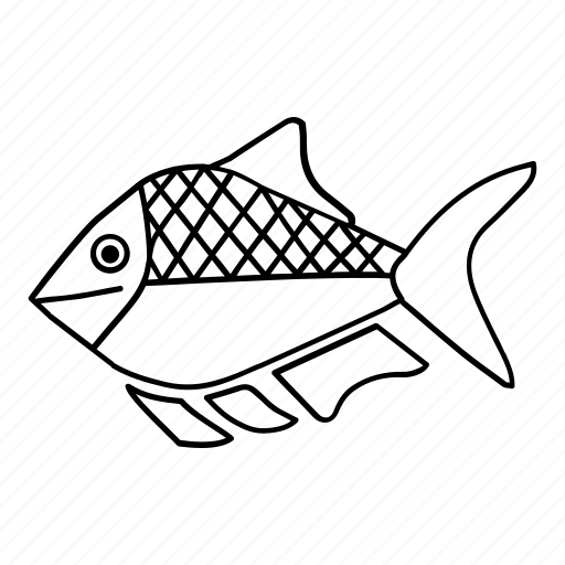 animal, fish, fishing, ocean, sea icon