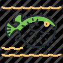 blowfish, fish, sea, species icon