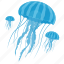 fish, food, jellyfish, sea, seafood icon