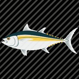 cooking, fish, food, kitchen, meal, seafood, tuna icon