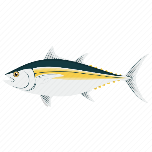 cooking, fish, food, kitchen, meal, seafood, tuna icon