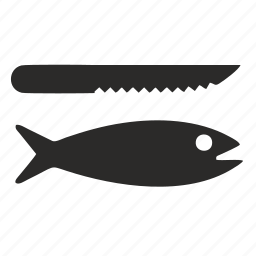 cook, fish icon
