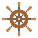 boat, pirate, steering, transportation, wheel