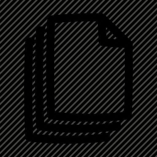 data, document, file, files, type icon