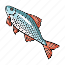 accessories, animal, equipment, fish, fishing, tackle icon
