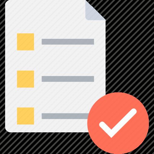 checklist, diet plan, done, task, tick icon