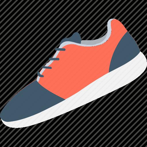 footwear, jogging shoes, sneakers, sports shoes, sportswear icon