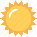morning, summer, sun, sunny day, sunshine icon