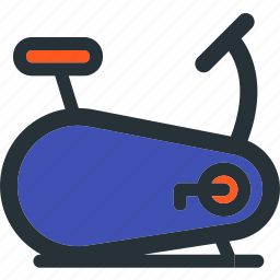 bicycle, bike, cycle, fitness, gym, sport, stationary icon